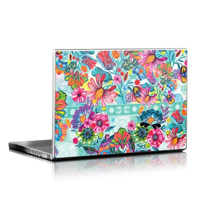 Laptop Skin - Lovely Garden