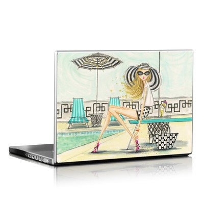 Laptop Skin - Luxe Retreat Poolside