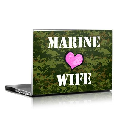 Laptop Skin - Marine Wife
