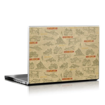 Laptop Skin - Marines Tech