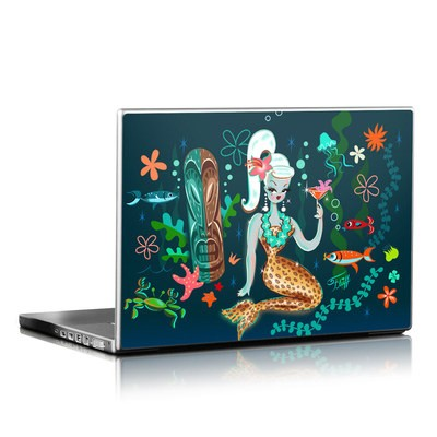 Laptop Skin - Martini Mermaid