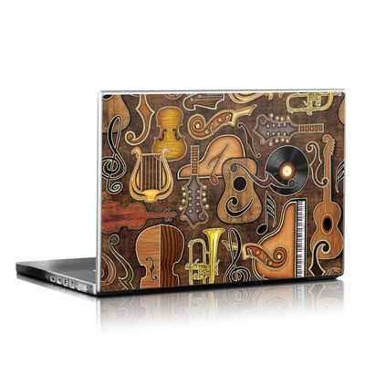 Laptop Skin - Music Elements