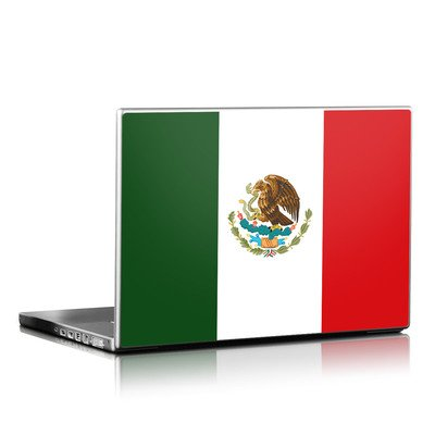 Laptop Skin - Mexican Flag