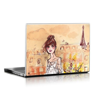 Laptop Skin - Mimosa Girl