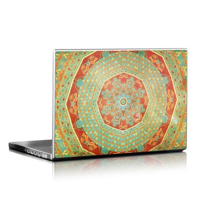 Laptop Skin - Mandala Citrus