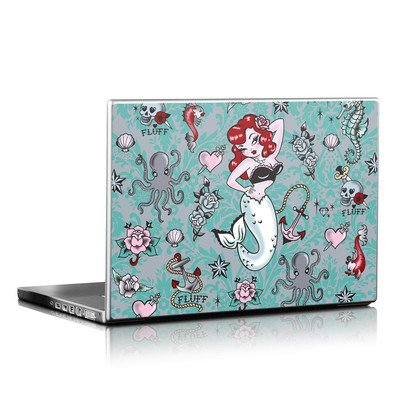 Laptop Skin - Molly Mermaid
