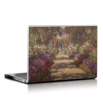 Laptop Skin - Monet - Garden at Giverny