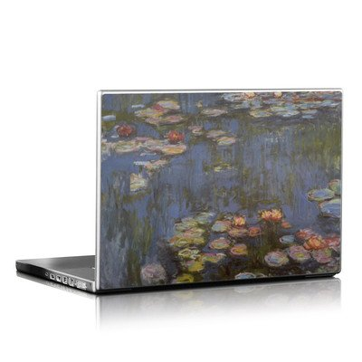 Laptop Skin - Monet - Water lilies