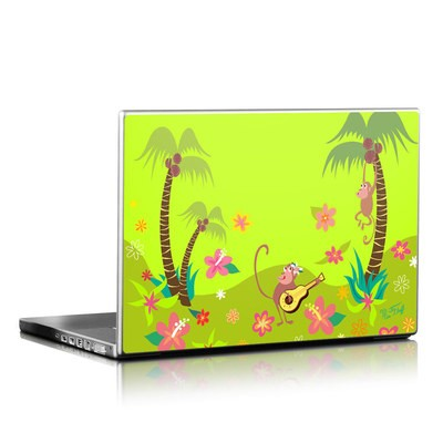 Laptop Skin - Monkey Melody