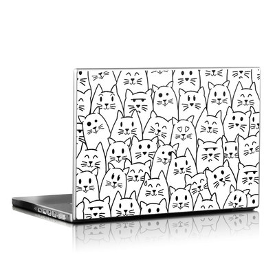 Laptop Skin - Moody Cats
