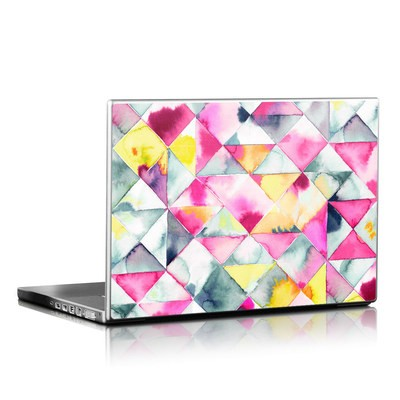 Laptop Skin - Moody Triangles