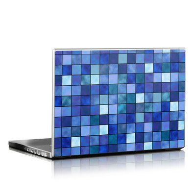 Laptop Skin - Blue Mosaic