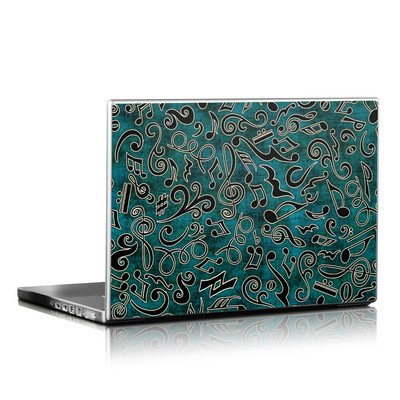 Laptop Skin - Music Notes