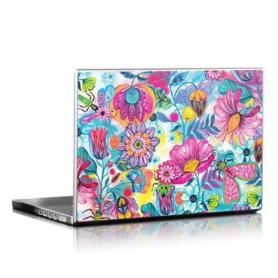 Laptop Skin - Natural Garden