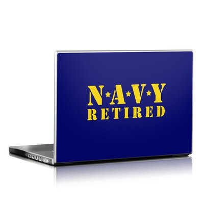 Laptop Skin - Navy Retired