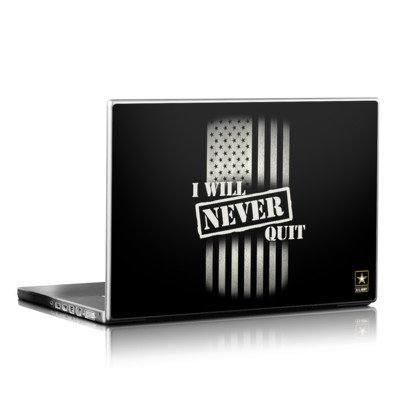 Laptop Skin - Never Quit