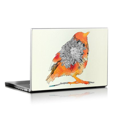 Laptop Skin - Orange Bird