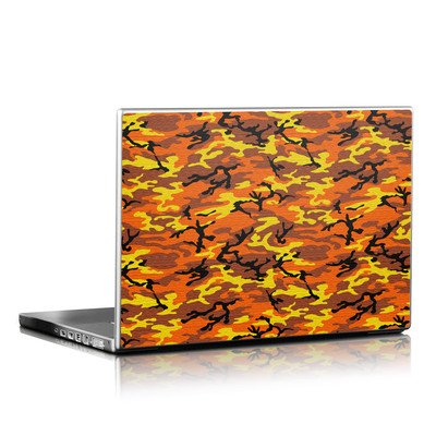 Laptop Skin - Orange Camo