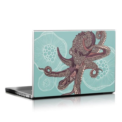 Laptop Skin - Octopus Bloom