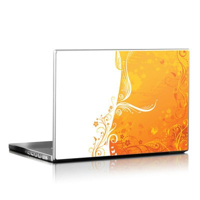 Laptop Skin - Orange Crush