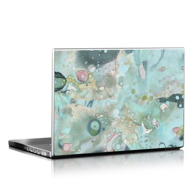 Laptop Skin - Organic In Blue