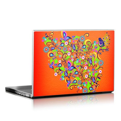 Laptop Skin - Orange Squirt