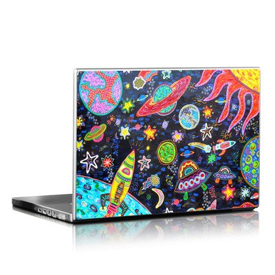 Laptop Skin - Out to Space