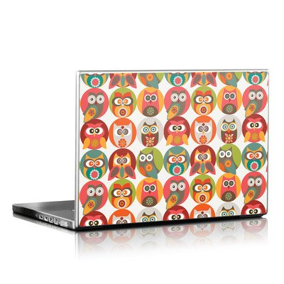 Laptop Skin - Owls Family