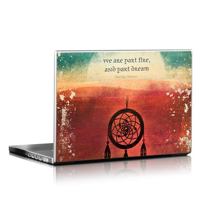 Laptop Skin - Part Fire