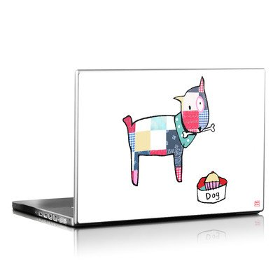 Laptop Skin - Patch Dog