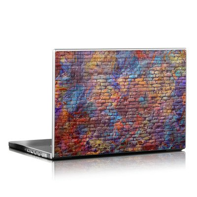 Laptop Skin - Painted Brick