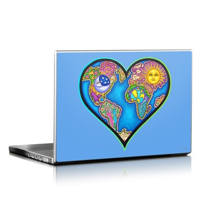 Laptop Skin - Peace Earth