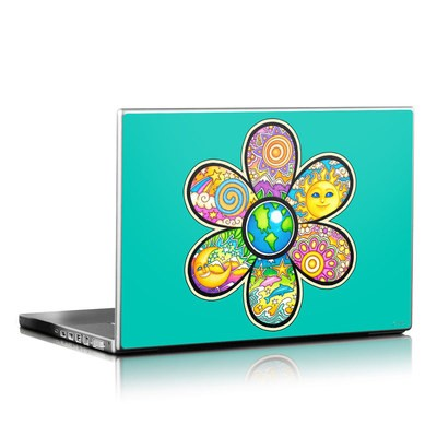 Laptop Skin - Peace Flower