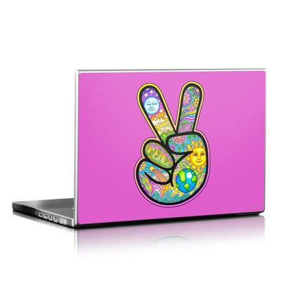 Laptop Skin - Peace Hand