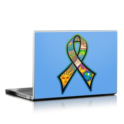 Laptop Skin - Peace Ribbon