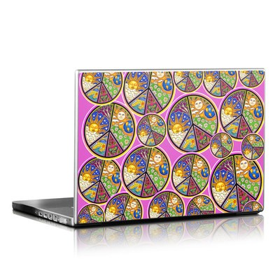 Laptop Skin - Peace Signs