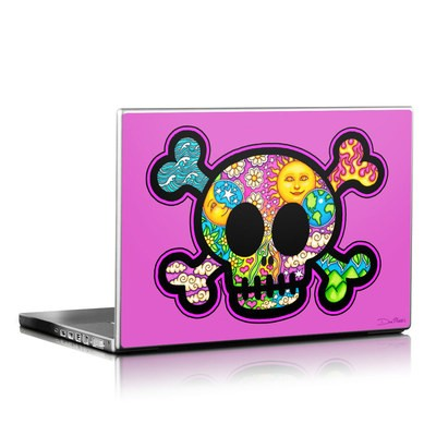 Laptop Skin - Peace Skull