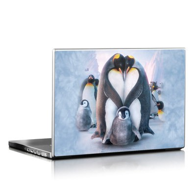 Laptop Skin - Penguin Heart