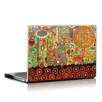 Laptop Skin - Percolations