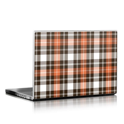Laptop Skin - Copper Plaid