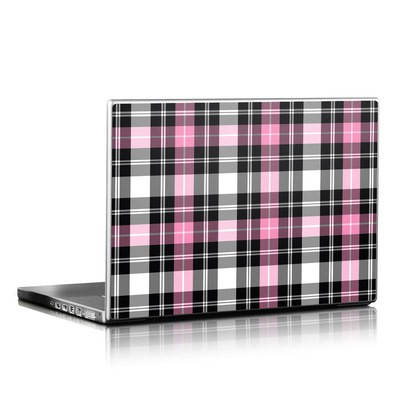 Laptop Skin - Pink Plaid