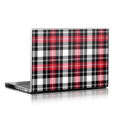 Laptop Skin - Red Plaid