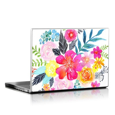Laptop Skin - Pink Bouquet