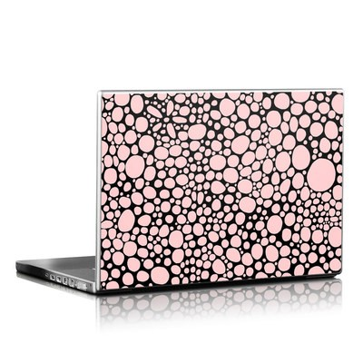 Laptop Skin - Pink Bubbles