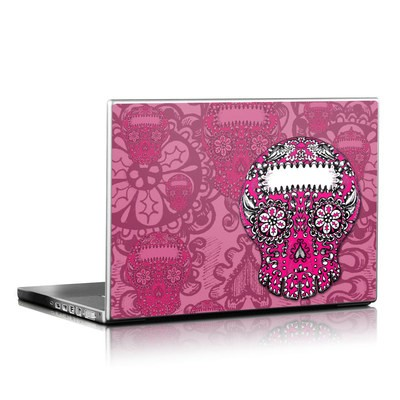 Laptop Skin - Pink Lace