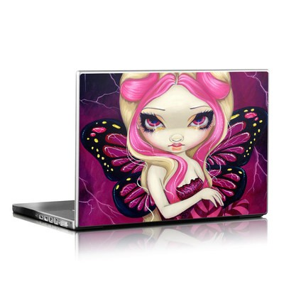 Laptop Skin - Pink Lightning