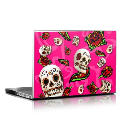 Laptop Skin - Pink Scatter