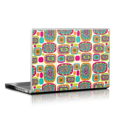 Laptop Skin - Pod Flowers
