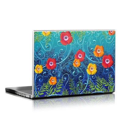 Laptop Skin - Poppies