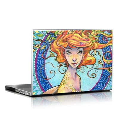 Laptop Skin - Portrait Mermaid